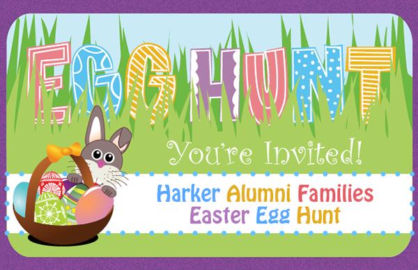 Harker Alumni Families Easter Egg Hunt