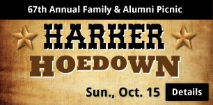 Harker Hoedown, Sun. Oct 15