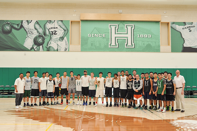 Alumni Basketball Game