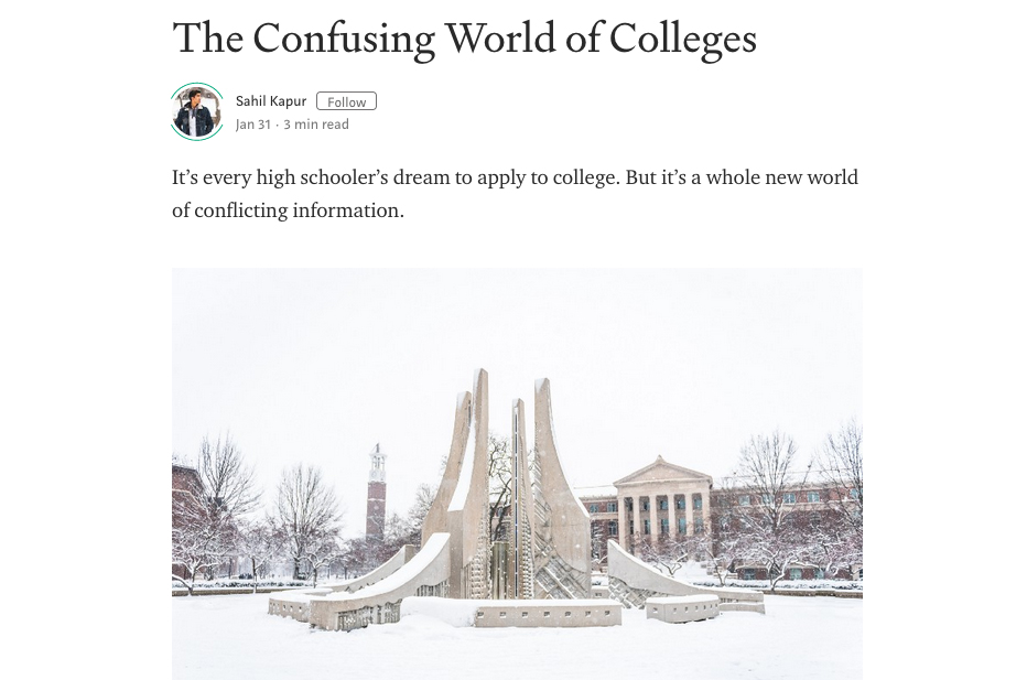 The Confusing World of Colleges – The Gen Z Narrative