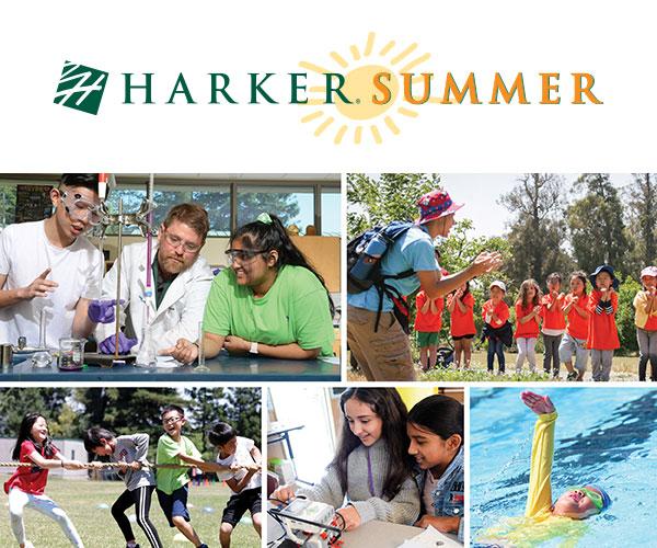 Harker summer students smiling.